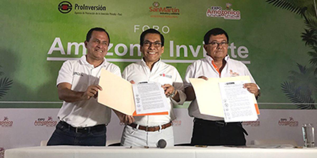 Ministro José Hernández firma convenio con gobierno regional para acelerar titulación en San Martín
