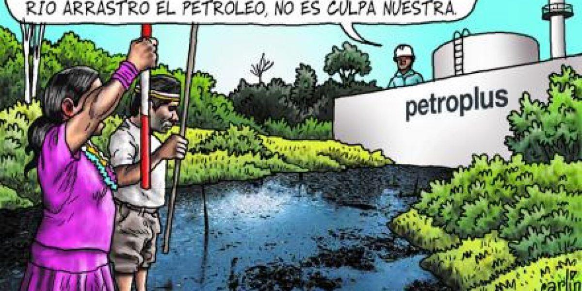 Contaminación de los ríos de la Amazonía y Paro Indígena