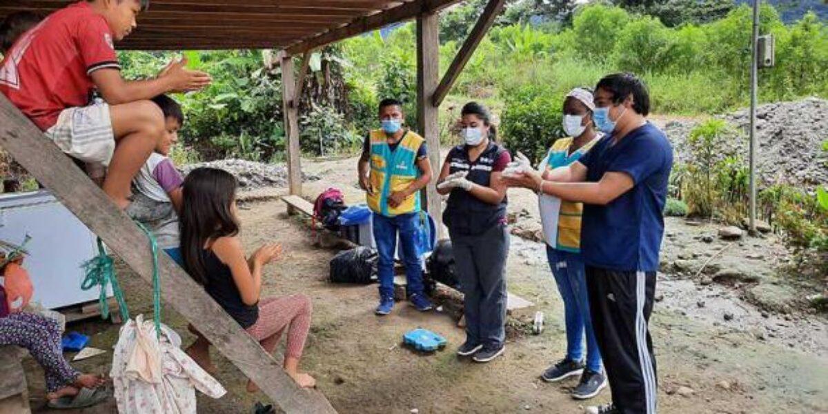 Avance del COVID entre los pueblos indígenas de San Martín