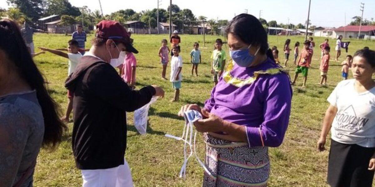 Indígenas contagiados de COVID en Perú