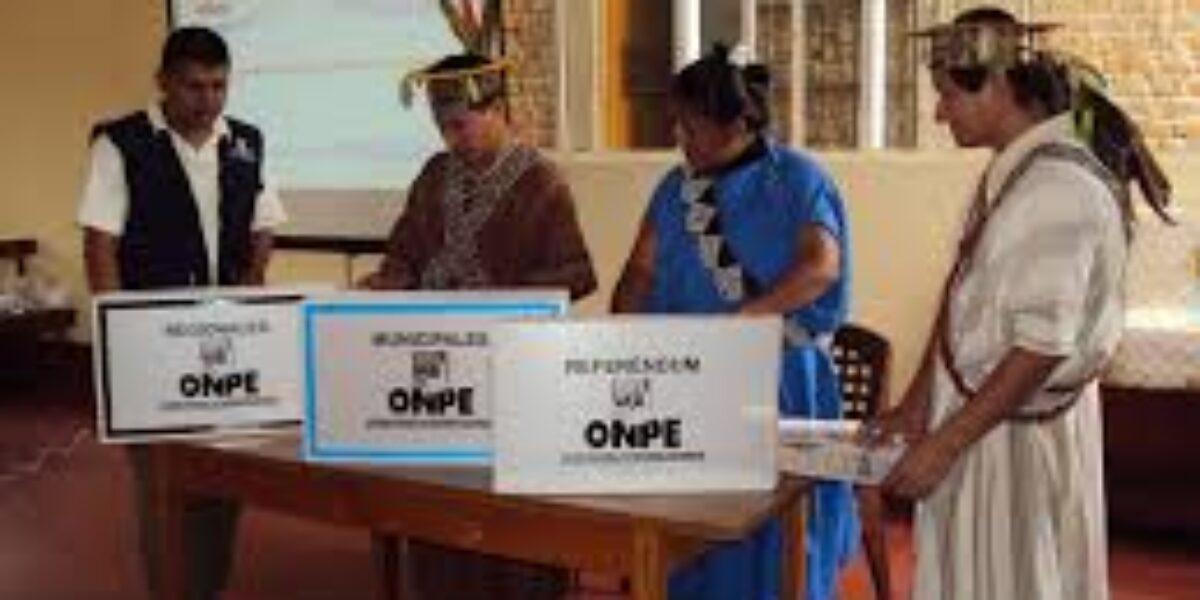 Pueblos Indígenas y Campaña Electoral